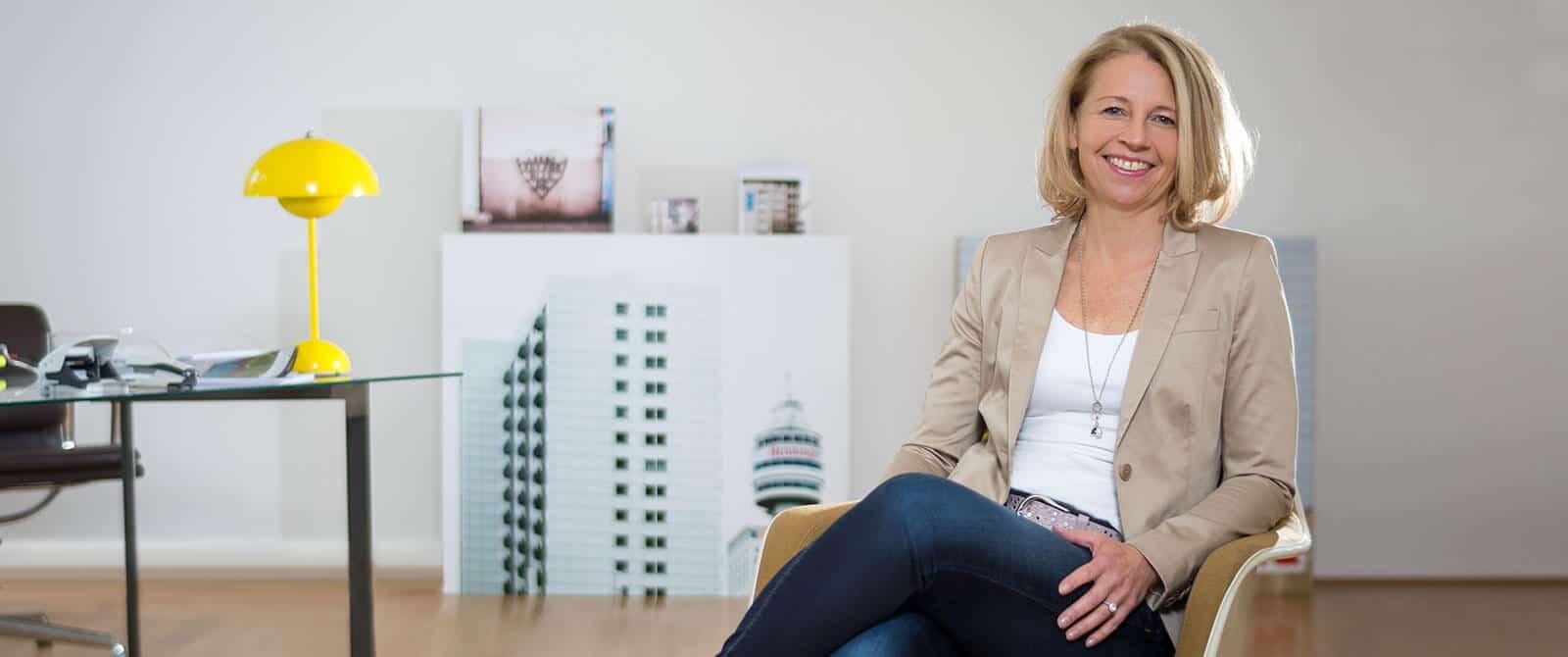 Kristine Pogge Geschäftsführerin PODIUM