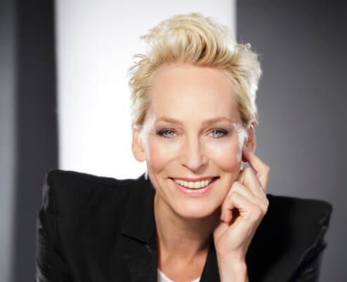 Moderatorin Bärbel Schäfer