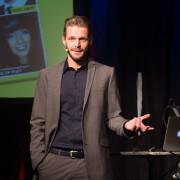 Florian Schroeder auf der Bühne