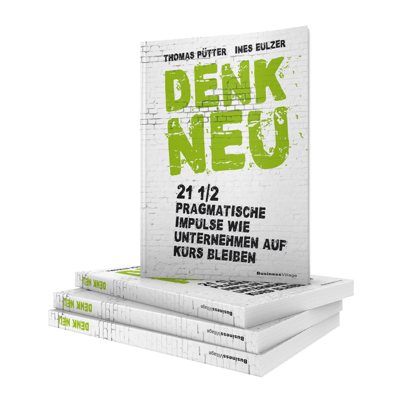 """Buch """"Denk Neu!"""" von Thomas Pütter"""
