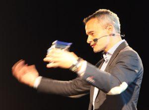 Jiri Scherer hält eine Keynote zum Thema Kreativität