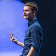 Dr. Henning Beck auf der Bühne