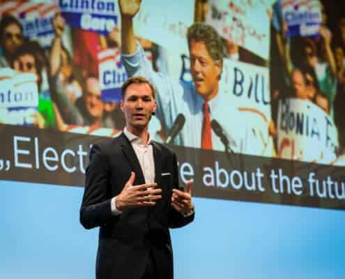 Profilfoto von Julius Van de Laar der Redneragentur PODIUM | Vorstellung als Redner