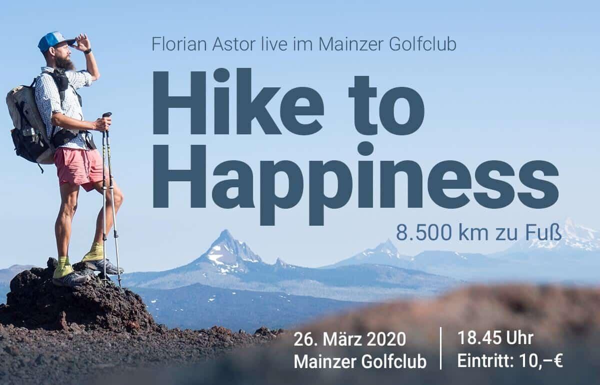 Florian Astor - Blick auf Berge - 26. März