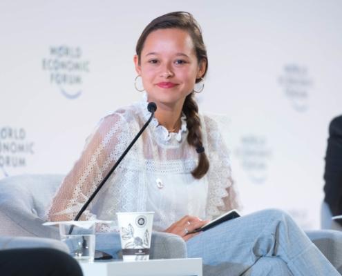 melati wijsen at the world economic forum